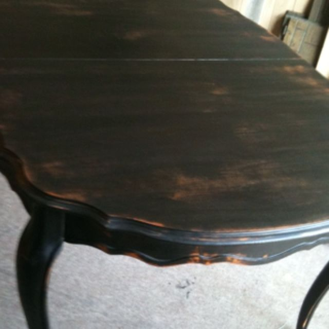 My signature French provincial dining table.