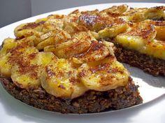 TORTA DE BANANA COM AMÊNDOAS E AVEIA (substituir por maçã)