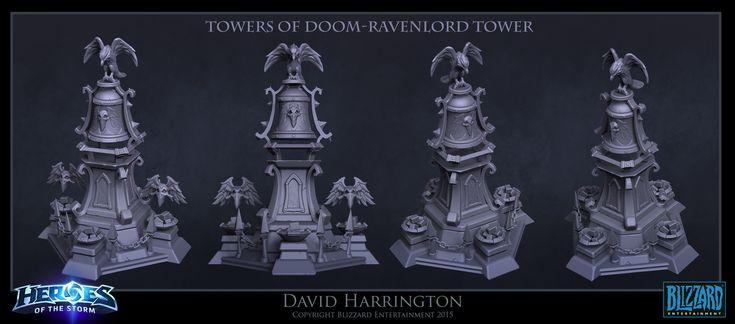David harrington harrington portfolio towersofdoom raventower