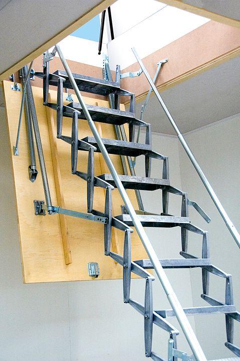 Best Gallery Of Scissor Stairs 2 In 2020 Stairs Loft 400 x 300