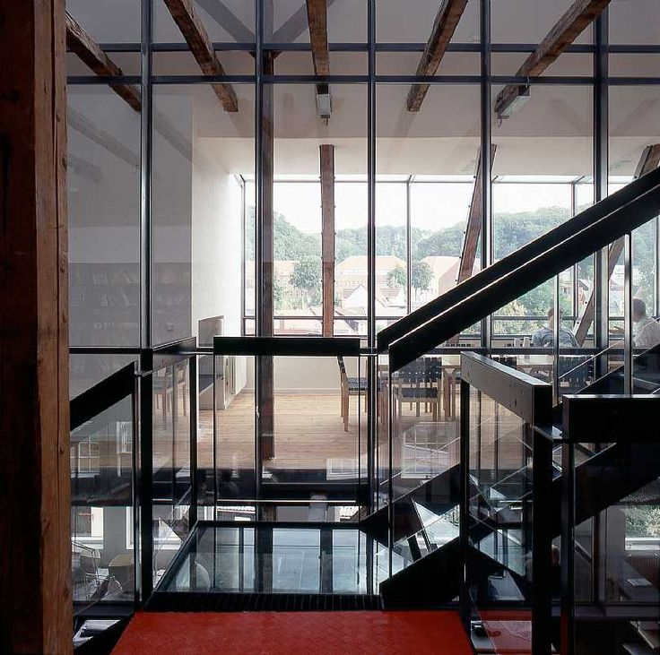 Studio in Vejle C.F. Møller. Photo: Julian Weyer