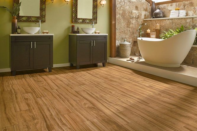 Modern Waterproof Laminate Flooring For Bathrooms Redboth Com In 2020 Wood Floor Bathroom Laminate Flooring Bathroom Best Bathroom Flooring