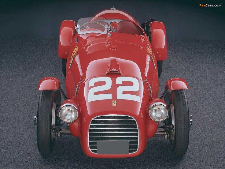 Ferrari 166 Spyder Corsa 1947