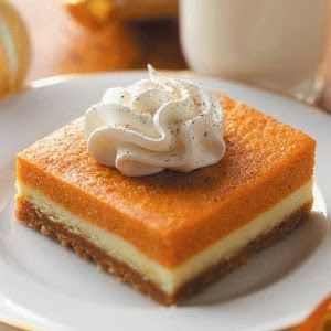 Pumpkin Bars Dessert Recipe