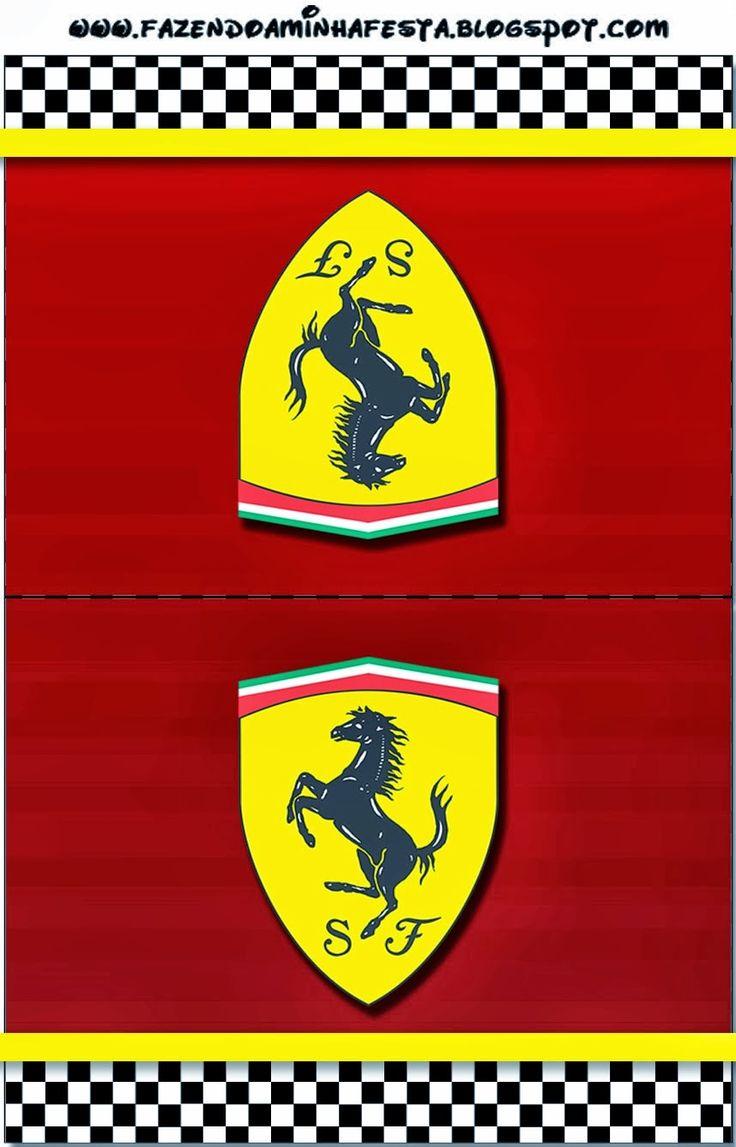 Ferrari Free Printable Cards Or Invitations Gian S 1st