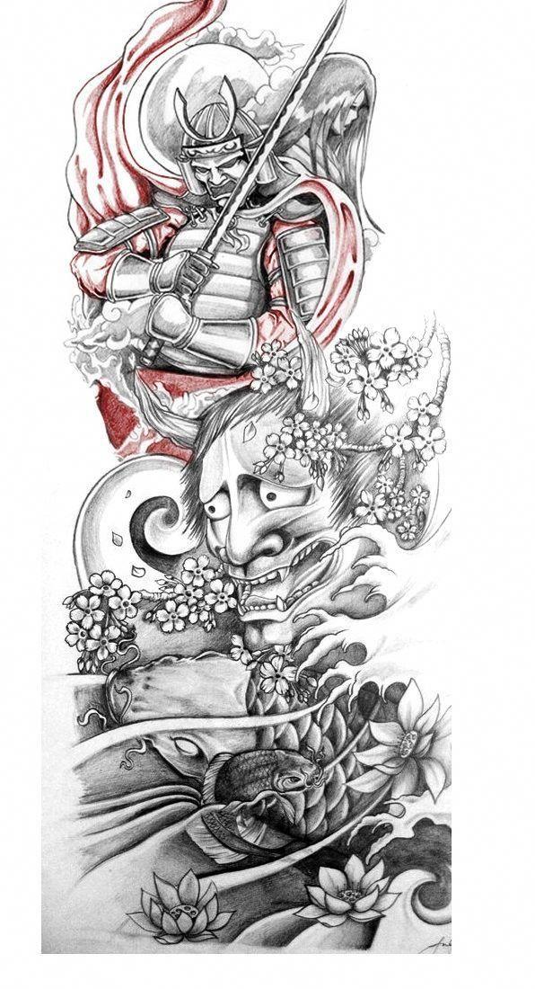 Sleeve Tattoo Designs Sleevetattoos Tattoo Art Drawings Samurai Tattoo Design Tattoo Sleeve Designs