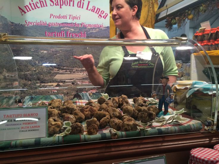 White truffles for sale at the Alba White Truffle Fair. Credit: Clarissa Hyman - Provided by Zester Daily