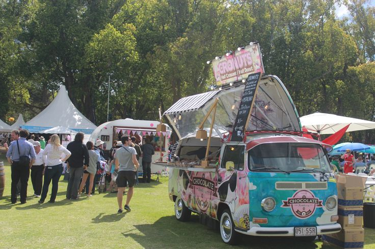 Cronuts van - selling a cross between donuts and croisants at the 2014 Toowoomba Flower Festival