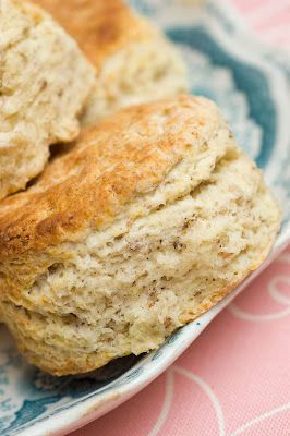 Toasted Pecan Buttermilk Biscuits~comes together as strawberry shortcake in the end...