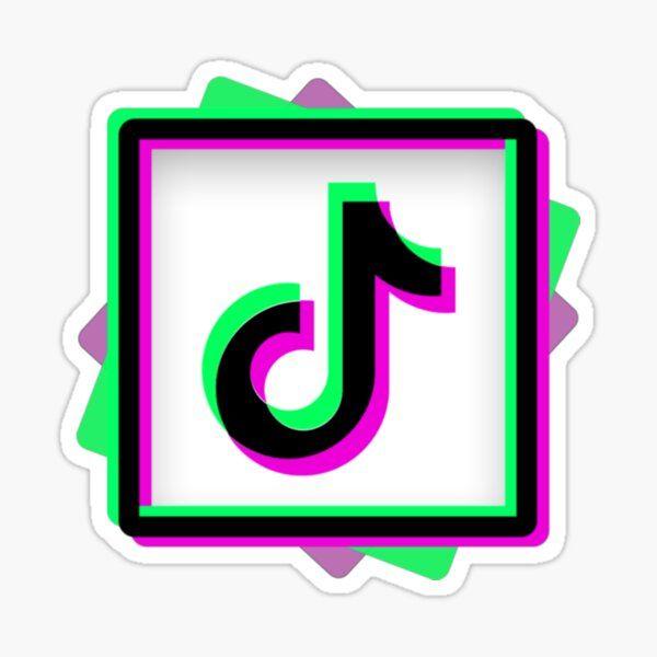 Aesthetic Tiktok Logo Sticker Aesthetic Tiktok Logo Pink Sticker Aesthetic Tiktok Logo Purple Sticker Aesthetic Logo Sticker Instagram Logo Music Note Logo