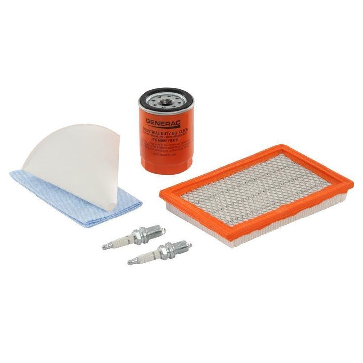 Generac 6485 Scheduled Maintenance Kit for Home Standby Generators with 20 kW 99 #Generac