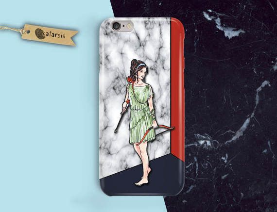 Ancient Woman iPhone 7 Case iPhone 6 Case by KatarsisFactory