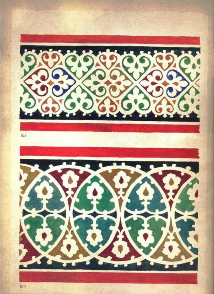 Serbian fresco pattern