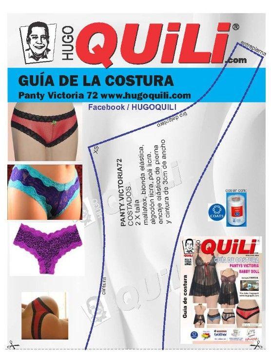 Patrones para ropa intima, patrones para trajes de baño, patrones para pijamas, patrones para trajes de baño, patrones para bracieres<br />