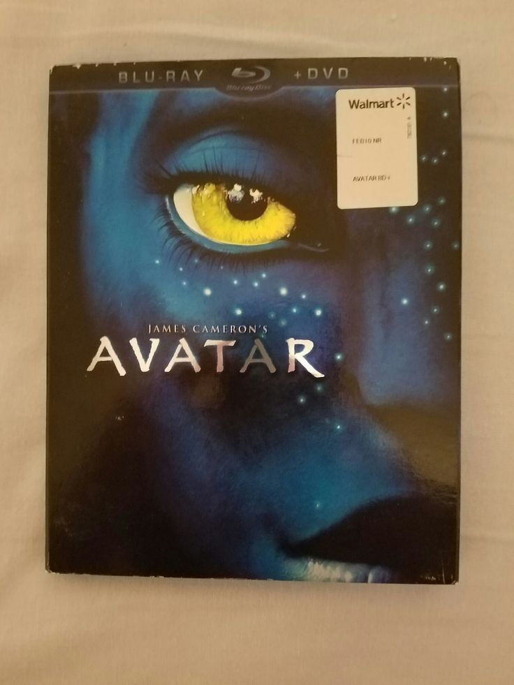 AVATAR BLU RAY + DVD LIKE NEW CONDITION IN SLEEVE