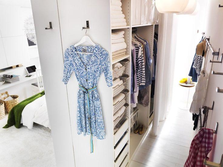 1. Lag deg et walk-in-closet - Åtte tips til en smart garderobe - Boligpluss.no