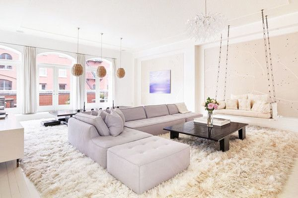 pretty colors Swing Time - Explore Gwyneth Paltrow's Goop-Worthy Tribeca Penthouse - Photos