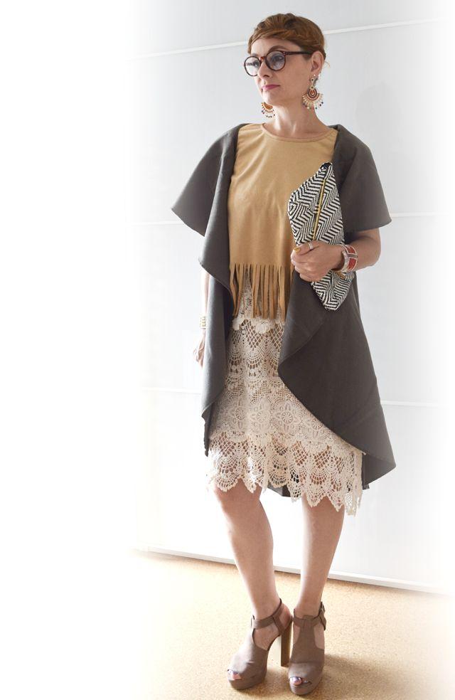 die EDELFABRIK | Modeblog und Beautyblog | Kassel | Frankfurt | Hannover | Ü40 Blog: Stilmix - Ich bin ein kleiner Boho Indianer - Outf...