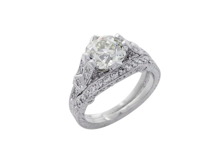 13 best images about antique reproduction engagement ring