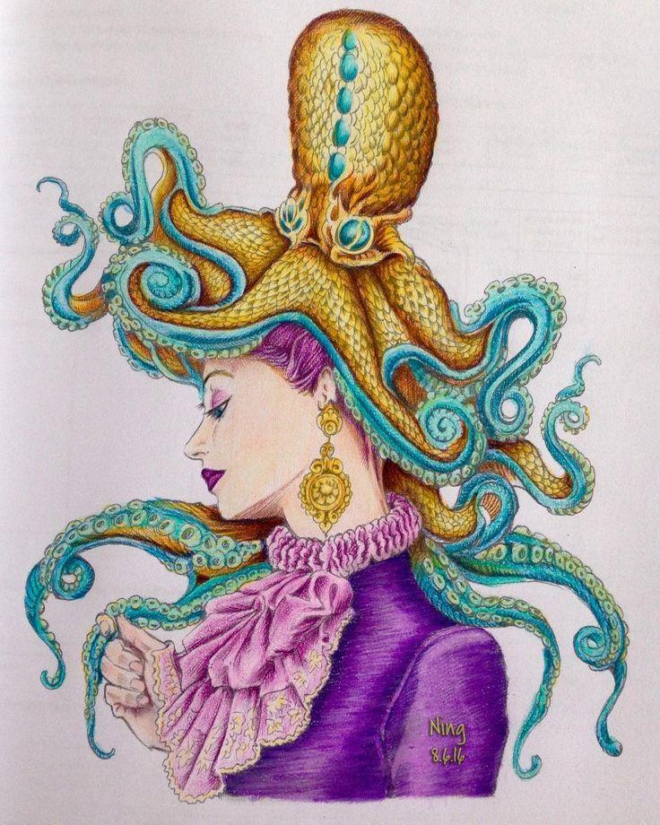 #ColourMySketchBook #BennettKlein #coloringbook #adultcoloringbook #coloring…