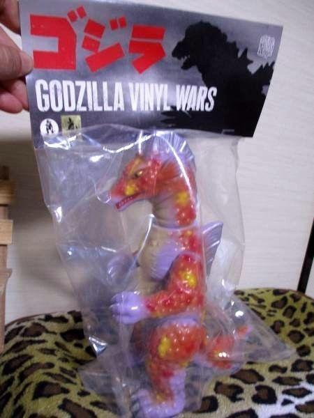 New Godzilla Vinyl Wars M1 No. Titanosaurus Sofubi Rare Limited F/S #MedicomToy