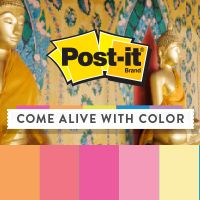 Find Post-it Brand inspiration in the colors of Bangkok, a spicy mix of Asian influences. View the gallery now!