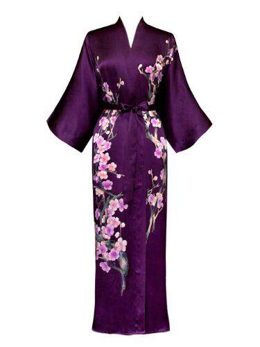 Silk Kimono- Handpainted (Long)