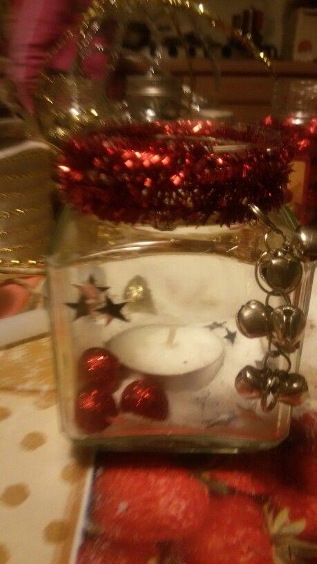 Lanterna natalizia con sonagli