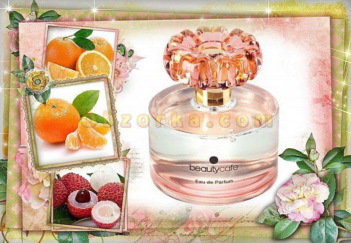 Парфюмерная вода для женщин Beauty Cafe от Faberlic- весенний, пудровый, сладостный