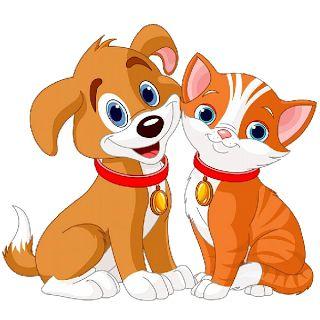 8 best dog cat clipart images on pinterest cat clipart animales rh pinterest com dog and cat silhouette clip art free dog and cat silhouette clip art free