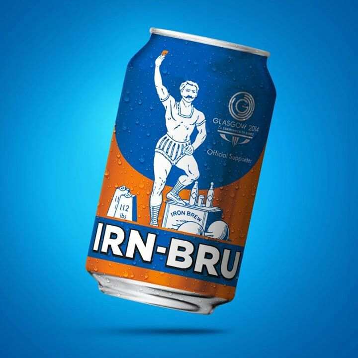 Irn-Bru commonwealth games. Get the children to design a product that can be used to sponsor the Commonwealth Games