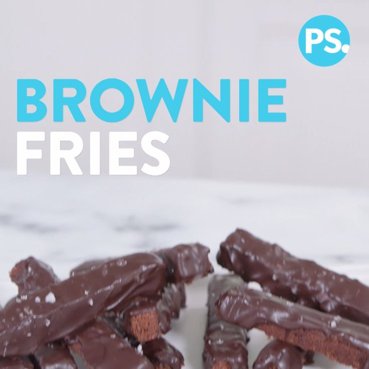 Brownies fries? That's right; Sarah Michelle Gellar makes the classic dessert even better by transforming it into fry-like pieces that can be dipped into a berry sauce. The recipe begins with her Foodstirs Brownie Mix and is dressed up with espresso powder, a melted chocolate coating, and flake salt finish. It's the little things that count!