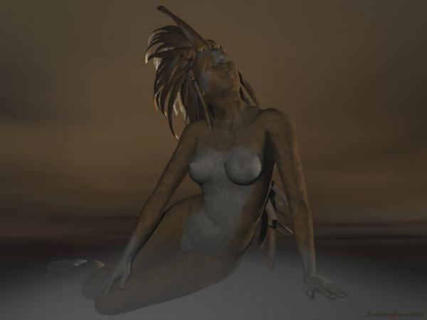 Digital Art, Eden, Digital images, Dark mystical 3d art computer artwork pictures, modern digital design painting, nude woman figure Surreal neo-surrealism naked female body the supernatural visionary modern surrealism neo surrealist artist downloads.