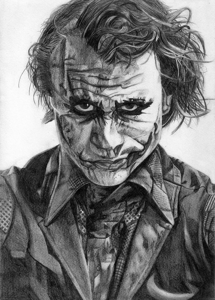 Joker Scribble Drawing : The joker drawing pinterest jokers heath