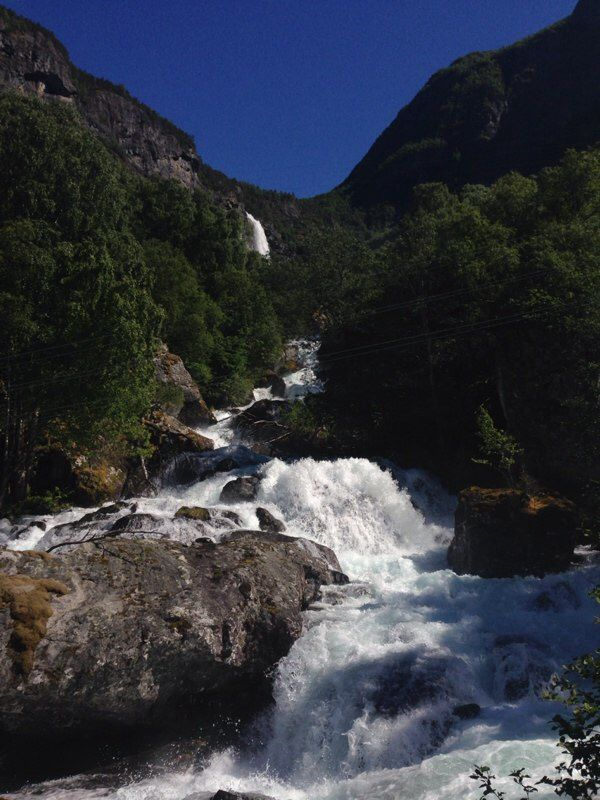 13-6-2014 / Waterval Feigumfossen