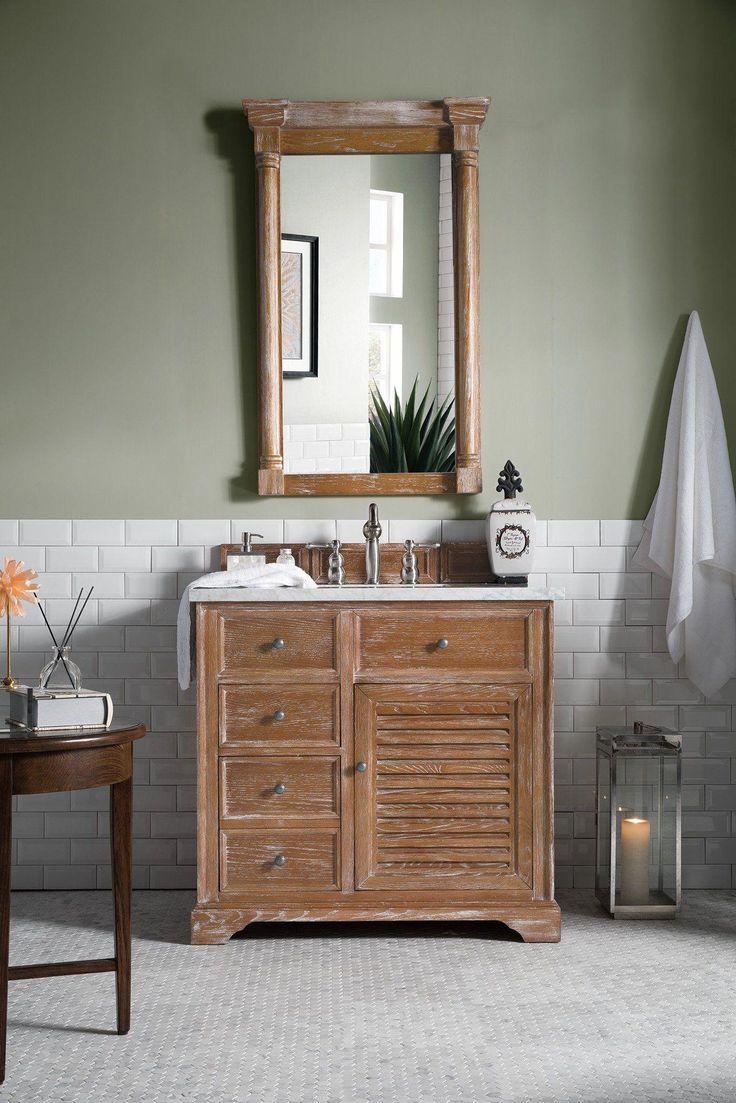 """Einzelwaschtisch Savannah 36 """", Einzelwaschtisch – James Martin Vanity #Bathroomvanity"""