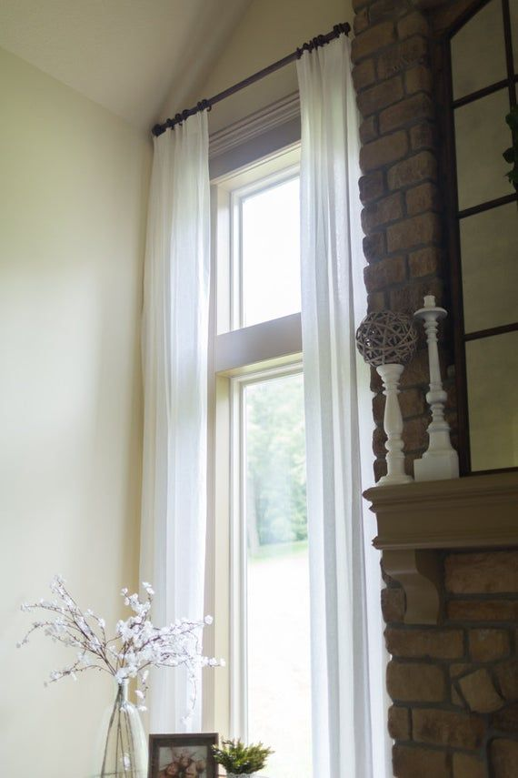 Extra Long Drapes Two Story Drapes Custom Long Curtain Panels
