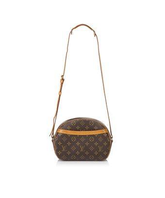 562425d2d9ce LOUIS VUITTON PRE-OWNED  MONOGRAM BLOIS.  louisvuitton  bags  leather   canvas