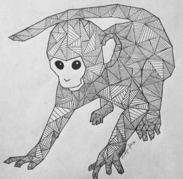 Line Art Animal Tattoos : Best images about geometric animals on pinterest