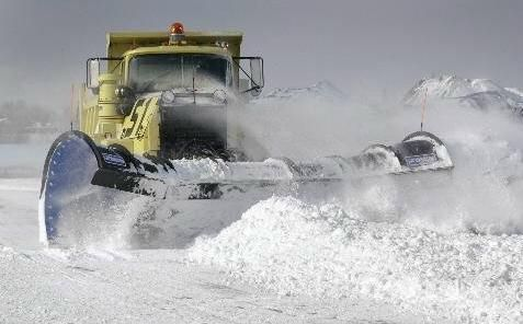 Oshkosh Snow Plow Truck