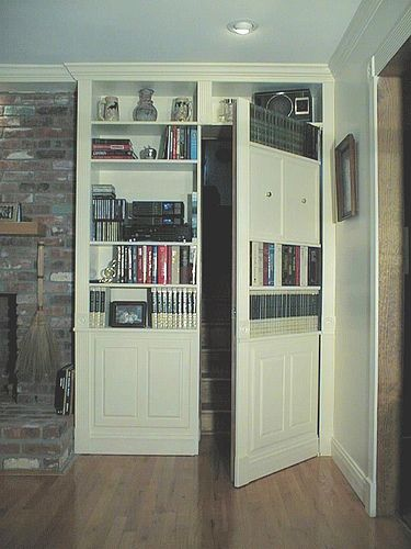 17 best images about secret door ideas on pinterest safe for Secret door ideas