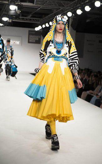 Holly Jayne Smith, Graduate Fashion Design BA Hons 14 Birmingham Institute of Art and Design