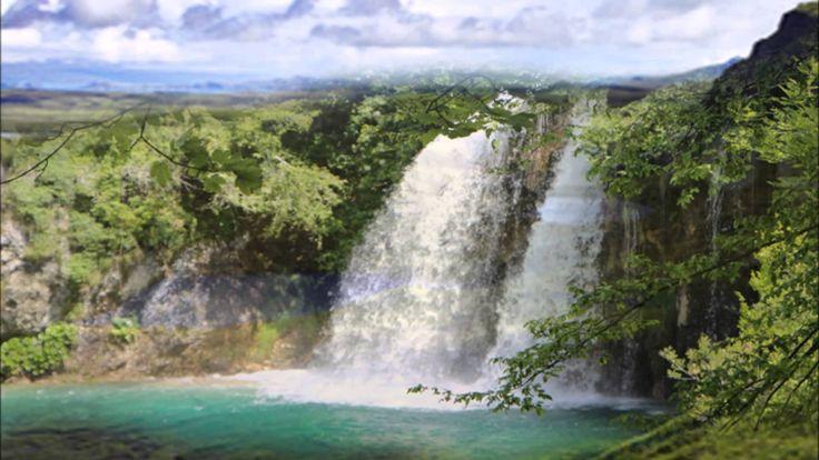 Hypnose zum einschlafen deutsch Wasserfall Blockadenlösung