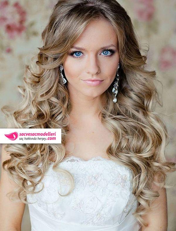 sarışın gelin saçı modelleri (11)