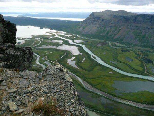 Sarek National PArk  http://www.swedenwanderer.com/the-best-national-parks-in-lapland-province/