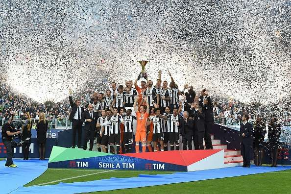 Juventus continued their reign at the summit of Serie A