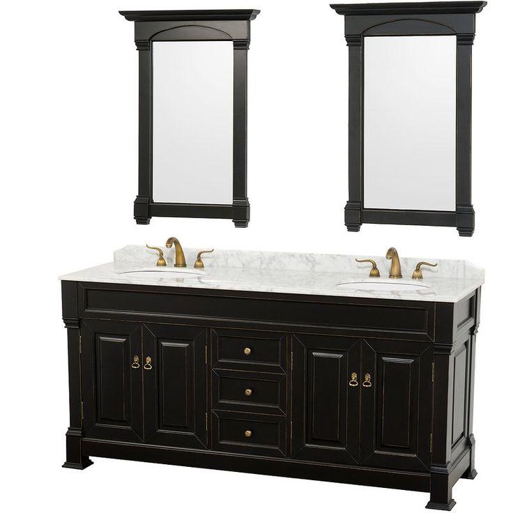 Black And White Bathroom Vanity Single Grey Wooden Bathroom Vanity With  White Top And Sink Also. Best 25 Black Bathroom Vanities Ideas On Black.