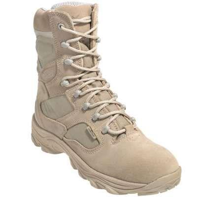 Wellco boots men s tan x 4orce 8 inch combat boots t180 in Men Work Boots