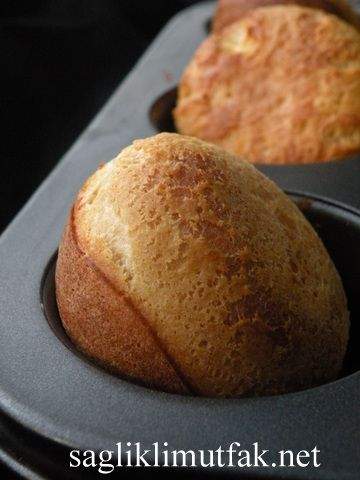Popowers (Krep Ekmek) – Sağlıklı Mutfak