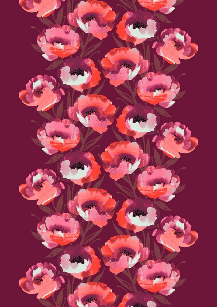 Aino, red by Vilma Pellinen